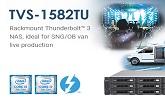 QNAP TVS-1582TU THUNDERBOLT 3 NAS
