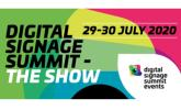 Digital Signage Summit - The Show 29-30 July 2020