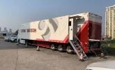 Jiangsu TV's IP-based 4K OB truck - Lawo mc²56 & ruby