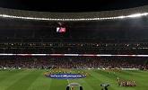Óriás LG kijelzők az Atletico Madrid arénájában