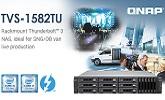 Új TVS-1582TU Thunderbolt 3 NAS
