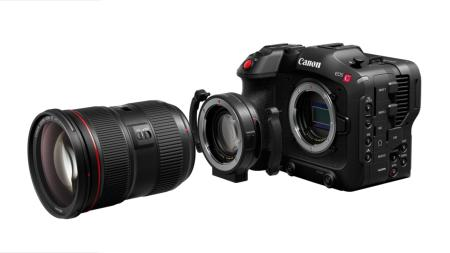 Canon EOS C70 - ready for action
