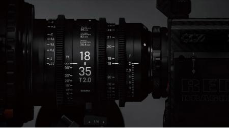 SIGMA ANNOUNCES NEW CINE LENSES